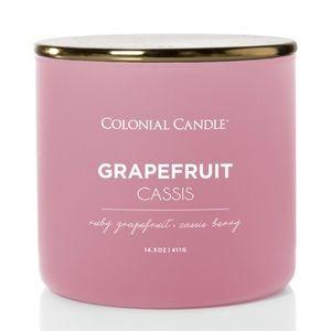 3 New Colonial Candles Grapefruit Cassis 14.5 oz.